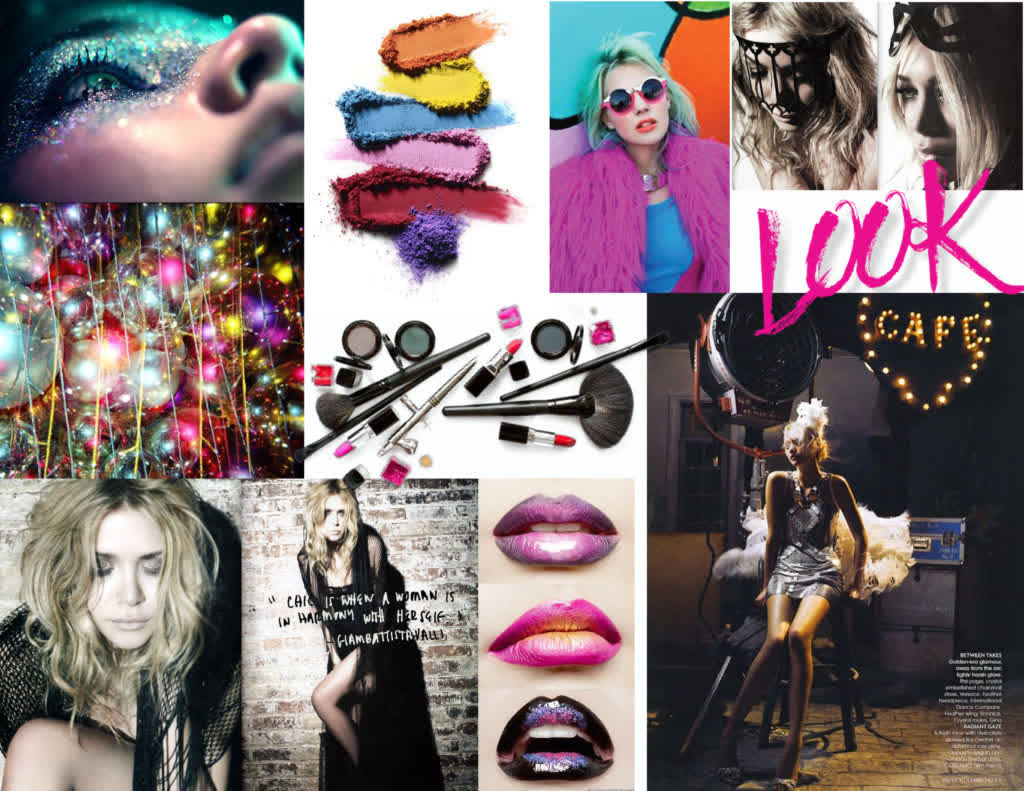 This is the mood board we did for Kelly's shoot - I think we got pretty close!